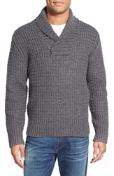 Men's Schott Nyc Shawl Collar Knit Pullover