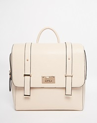 New Look Square Satchel Backpack Stone