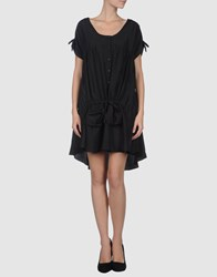 Phard Short Dresses Black