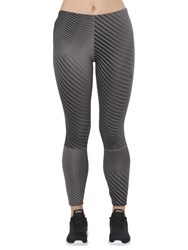 Asics Printed 7 8 Running Tights Linear Carbon