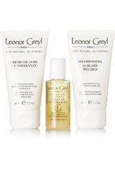 Leonor Greyl Travel Kit For Colored Hair One Size Colorless