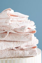 Anthropologie Alayna Towel Collection Peach