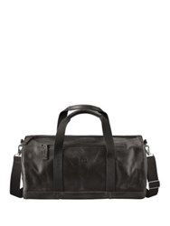 Timberland Tuckerman Leather Duffel Bag Black