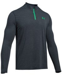 Under Armour Men's Threadborne Performance Quarter Zip Pullover Stealth Grey