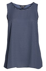Evans Plus Size Polka Dot Swing Tank Top