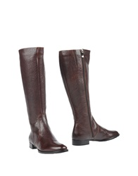 Pas De Rouge Boots Dark Brown