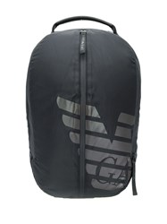 Emporio Armani Nylon Logo Backpack 88001 Nero Nero