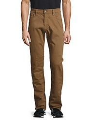 34 Heritage Stretch Cotton Pants Brown