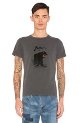 Remi Relief Japan Panther Tee Charcoal