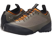 Arc'teryx Acrux Fl Dark Greystone Arc Amber Arc Men's Shoes Brown