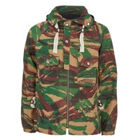 Garbstore Men's Moss Parka Jacket Camo Green