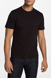 Men's The Rail Trim Fit Crewneck T Shirt Black