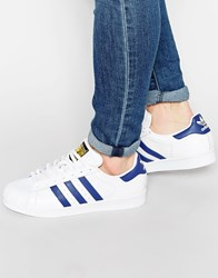 Adidas Originals Superstar Animal Trainers S75159 White