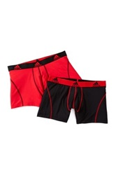 Adidas Climalite Performance Trunk Pack Of 2 Black