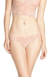 Chelsea 28 Women's Chelsea28 Lacy Days Thong Pink Creole