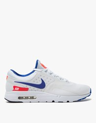 Nike Air Max Zero Qs White Solar White Solar Red