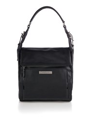 Kenneth Cole Hudson Hobo Bag Black