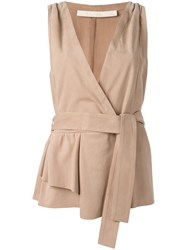 Drome Drawstring Fitted Jacket Nude Neutrals