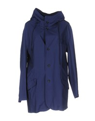 Collection Privee Overcoats Dark Blue