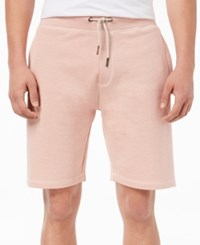 American Rag Men's Solid Drawstring Shorts Created For Macy's Millenial Pink