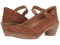 El Naturalista Aqua N5327 Wood Shoes Brown
