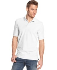 Club Room Big And Tall Men's Polo Shirt Only At Macy's Bright White