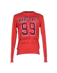 Franklin And Marshall Sweaters Red