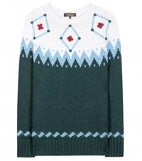 Loro Piana Wetterhorn Knitted Cashmere Sweater Green