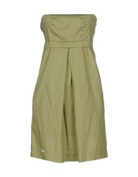 Doralice Short Dresses Military Green