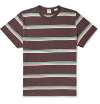 Levi's Vintage Clothing 1960S Striped Cotton Jersey T Shirt Brown