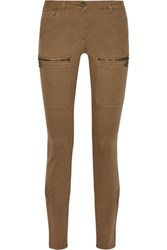 Belstaff Rori Mid Rise Skinny Jeans Light Brown