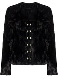 Shrimps Ryder Faux Fur Fitted Jacket 60