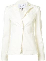 Derek Lam 10 Crosby One Button Blazer White