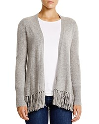 Moon And Meadow Fringe Hem Cashmere Cardigan