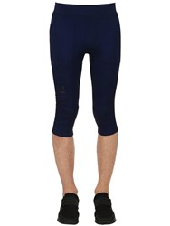 Under Armour Perpetual Printed Compression Pants Blue