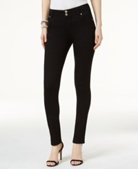 Inc International Concepts Cuffed Skinny Jeans Only At Macy's Black Denim