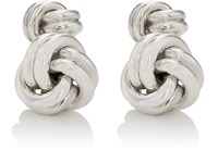 Barneys New York Men's Sterling Silver Double Sided Knot Cufflinks