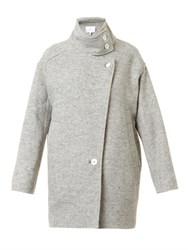 Iro Chloane Oversized Coat Light Grey