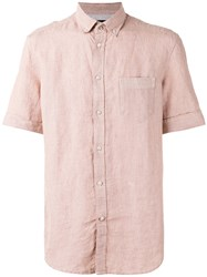 Diesel Plain Shirt Red