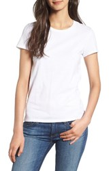 Juicy Couture Women's Gothic Crystals Logo Tee White