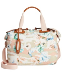 Sanctuary Bodega Canvas Satchel Floral Camo