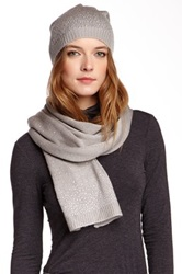 Nine West Scatter Stone Muffler Gray