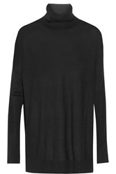 Line Randel Modal And Cashmere Blend Turtleneck Sweater Black
