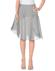Philosophy Di Alberta Ferretti Skirts Knee Length Skirts Women Light Grey
