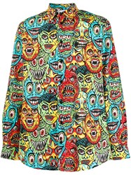 Moschino Monster Print Shirt 60