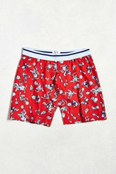 Urban Outfitters Space Jam Boxer Brief Red
