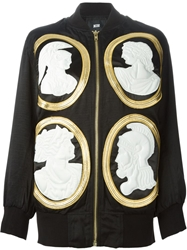 Ktz Embossed Cameo Applique Jacket