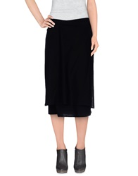 Ann Demeulemeester Knee Length Skirts