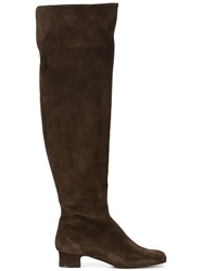 P.A.R.O.S.H. Knee High Boots Brown