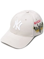 Gucci Front Logo Hat Nude And Neutrals